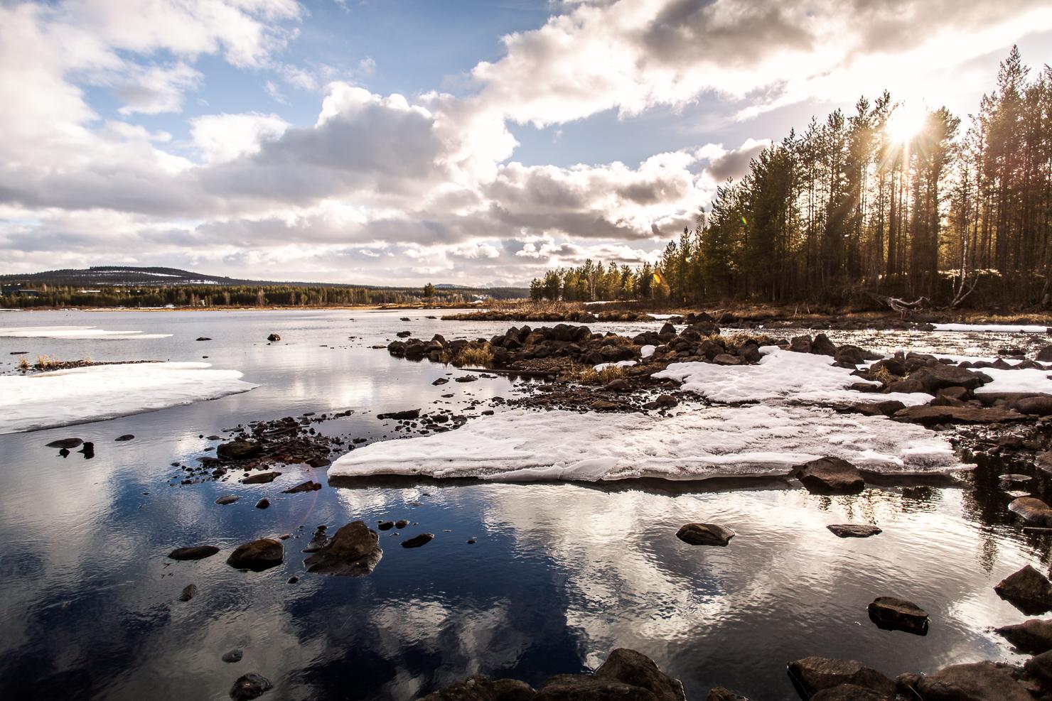 Nordomsjön vid Ögånäset