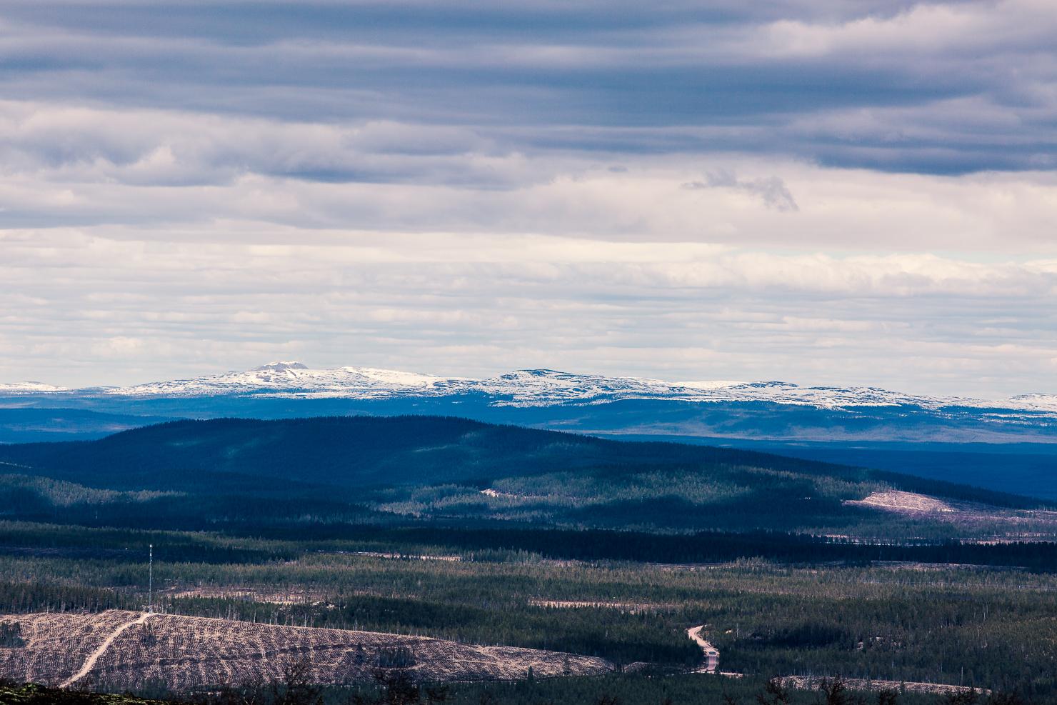 Utsikt från Fulufjället