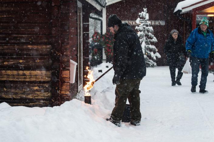 Adventshelg på Lomkällan