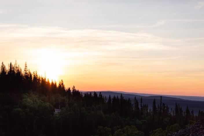 Soluppgång Fulufjället
