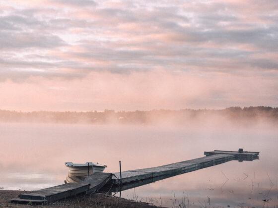 Morgondimma Särnsjön