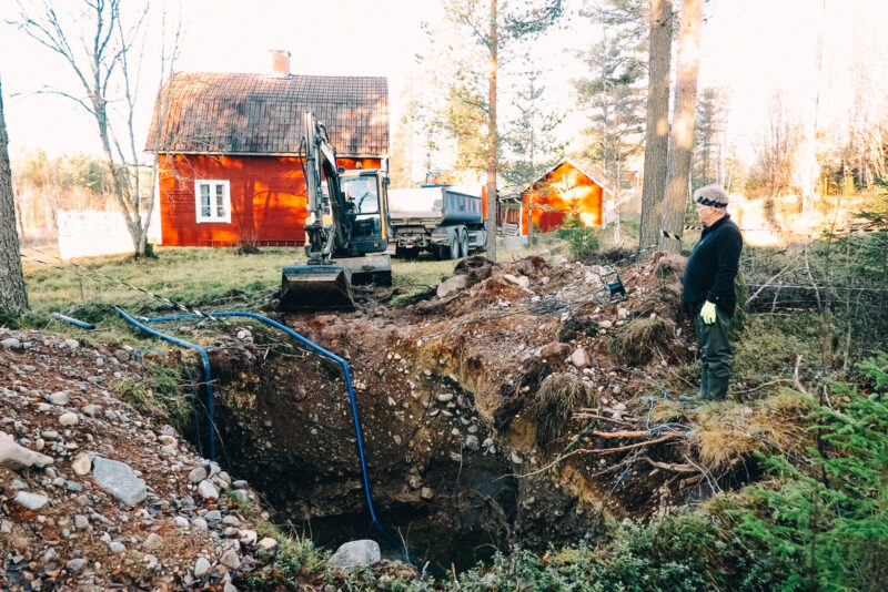 brunnsgrävning ladurenovering